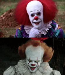 Pennywise Then and Now
